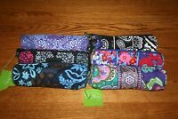 NWT Vera Bradley ON A ROLL CASE small cosmetic bag brush pencil pen pouch tote