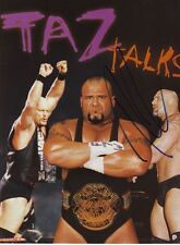 WWE WWF TAZ TAZZ AUTOGRAPHED HAND SIGNED 8X10 PHOTO WRESTLING PICTURE