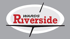 Vintage look Wards Riverside Benelli Variation #3 Gas Tank Vinyl Decal Sticker