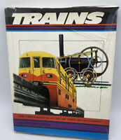 The History Of Trains Hardcover Book by Vittorio Enero