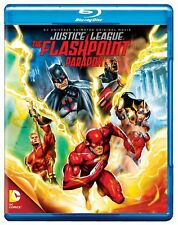 Blu Ray JUSTICE LEAGUE FLASHPOINT PARADOX. DC comics. Region free. New sealed.