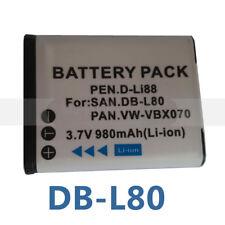 Digital Camera Battery for SANYO Xacti VPC-GH1EX-B VPC-GH2 VPC-GH3 VPC-GH4