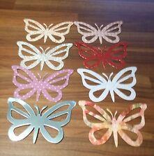 Spellbinder Large Die Cut Butterflies x10 assorted colours