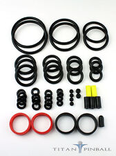 Universal Pinball Machine Rubber Ring Kit - Titan Competition Silicone - LT BLUE