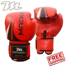 Boxing Gloves Fight Punch Bag Real Leather Muay thai Glove Kickboxing 12oz MMA