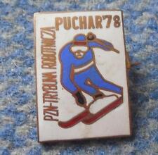 FIS BESKIDY CUP SKI JUMPING NORDIC COMBINED POLAND SZCZYRK WISLA 1978 PRESS PIN