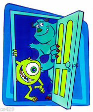 """5.5"""" Disney monsters inc sulley mike wall safe sticker border cut out character"""