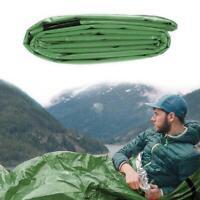 Emergency Waterproof Thermal Sleeping Bag For Outdoor Camping Gear Survival C1H4