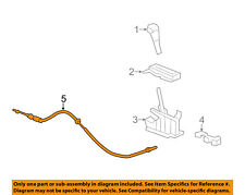 GM OEM-Automatic Transaxle Shift Control Cable 23256076