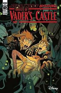 STAR WARS ADV GHOST VADERS CASTLE #1 NM COVER B CHARM 9/22 2021 PRESALE