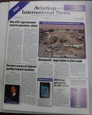 Aviation International News Magazine New STC Regulations July 2000 FAL 072115R