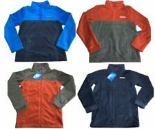 Youth Boys Columbia Fleece Jacket - Two Styles - Size M or L NWT