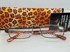 NOS Hilco Leader Reading Glasses +1.00 Power Reader w/ case