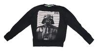 Star Wars Mens Size M Cotton Graphic Black Darth Vader Sweatshirt