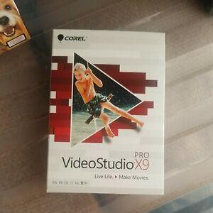 Corel VideoStudio Pro X9 Factory Sealed