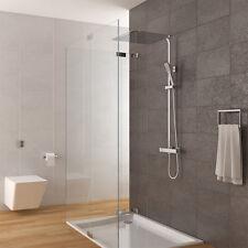 Duschsystem inkl. Thermostat Duschkopf 40x40cm Handbrause Duscharmatur Dusche