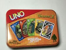2004 Sababa Toys UNO Shrek 2 Special Edition Card Game in Collector Tin NEW