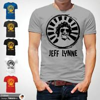 Mr Blue Sky T Shirt Jeff Lynne ELO Tribute Rock Music Retro Classic Cool Gray