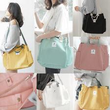 Women Hobo Canvas Shoulder Bag Messenger Harajuku Purse Satchel Tote Handbag