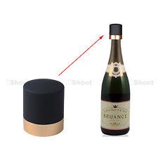 Gold Stopper Sparkling Wine Champagne Bottle Plug Cork Pourer Sealer Cover Cap