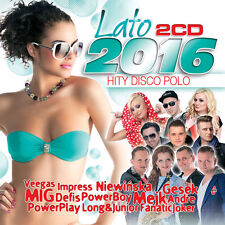 Lato 2016 - Hity Disco Polo (CD 2 disc) NEW