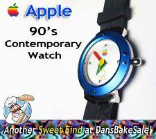 Apple Computer Vintage Watch Mac OS Promo 1990s Rare Contemporary Quartz