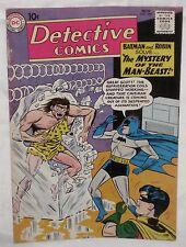 Silver Age DETECTIVE COMICS #285 BATMAN Mystery of the Man-Beast! FN+ 6.5