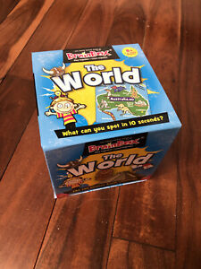 Brainbox The World Card Game Knowledge Childrens Educational Activities