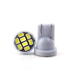 300Pcs White T10 W5W 8SMD 1206 LED 168 194 License Plate Side Indication Lights