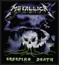 OFFICIAL LICENSED - METALLICA - CREEPING DEATH SEW ON PATCH METAL HETFIELD