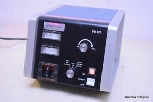 FISHER SCIENTIFIC/BIOTECH ELECTROPHORESIS SYSTEM MODEL FB 420 POWER SUPPLY