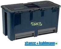 Raaco Werkzeugkoffer Compact 27 Liter -30 Kg Tragfähigkeit - schlagfest + stabil