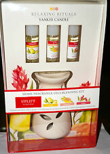 """YANKEE CANDLE Relaxing Rituals Home Fragrance Oils Blending Kit """"Uplift"""" New Box"""