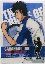 The Prince of Tennis Clear Trading Card Sadaharu Inui