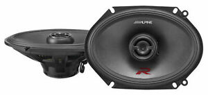 """Pair Alpine R-S68 6x8"""" 2-Way Car Stereo Speakers Totalling 600 Watts Type-R RS68"""