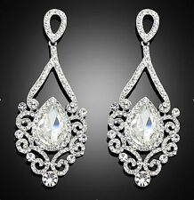 Crystal Chandelier Fashion Earrings