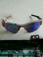 NEW OAKLEY FLAK JACKET GRAY WITH POSITIVE RED 30 ANNIVERSARY XLJ LENSES