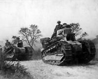 American Troops and Tanks Forest of Argonne, France 8x10 WWI WW1 Photo 18