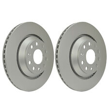 Rear Brake Discs 310mm 54407PRO fits VW GOLF MK VI 5K1 2.0 GTi 1.4 TSI 2.0 TDI