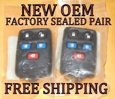 NEW OEM PAIR FORD WINDSTAR FREESTAR MONTEREY KEYLESS REMOTE ENTRY FOB CWTWB1U551