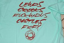 "NEW CROOKS AND CASTLES X FUTURA ""LEWDS"" RIP Fairfax supreme gift box blue sz M"