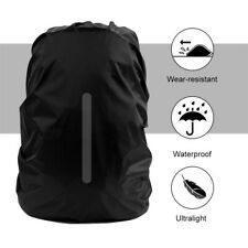Backpack Rain Cover Waterproof Rucksack Reflective Strip Skin For Hiking Camping