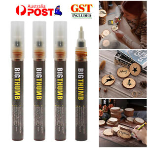 For DIY Projects Easy Use Fast Chemical Woodburning Pen Scorch Marker Painting