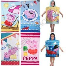Toallas de baño y albornoces Peppa Pig para niños
