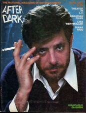 Giancarlo Giannini After Dark Magazine 1976 Diana Rigg Article with Photos