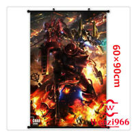 Decorate Decor Poster Wall Anime GUNDAM Cosplay Scroll Home Gift 60*90CM #X61