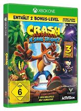 Crash Bandicoot N.Sane Trilogy inkl. Bonuslevel Xbox One NEU + OVP