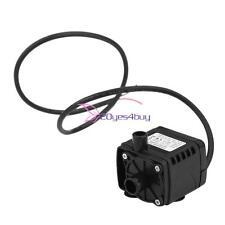 Mini Hot Black Dc 12V 280L/H Brushless Motor Submersible Water Pump Car Fountain