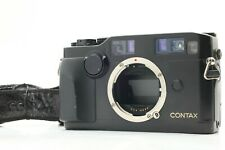 【AS IS】CONTAX G2 Black 35mm Rangefinder Body Only From JAPAN #FedEx# 597