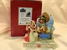 New ListingJim Shore Disney Traditions 4062247 Beauty & Beast Something There Color Damaged